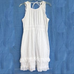 JCrew ☀️ Summer Dress in White